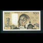 Billet 500 Francs PASCAL 3-2-1977.F.Q72 43185