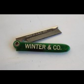 Ancien rasoir pliant WINTER & CO. U.S.A.