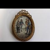 Peinture miniature Revolution Française