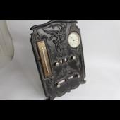Calendrier perpétuel  montre thermometre gutta percha Napoleon III