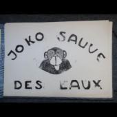 Livre Bois Gravé Joko sauvé des eaux