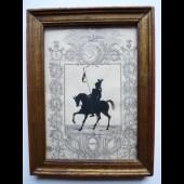 Gravure Commémoration Batailles Napoléon Bonaparte
