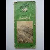 Guide Michelin France SAVOIE 1949