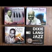 Lot de 4 cofferts de CD Musique Jazz Count Basie Parker