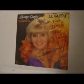 Disque Vinyl 33 tours Annie CORDY Le Kazou Olympia 79 Autographe Dédicace