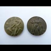 Médaille des jeux de Genève 1943 et 1944 Sport (x2)
