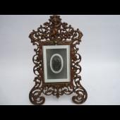 Porte photos néo-Renaissance ange putto
