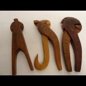 Trois Casse noix Art populaire