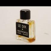 Flacon de parfum miniature échantillon Le Dix BALENCIAGA