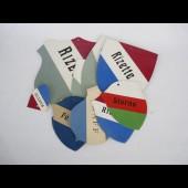 Blasons ( 10 ) Souvenir Etiudiants Suisse 1947