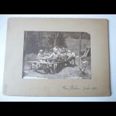 Photo Scouts Lac Blanc Juillet 1921