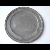 Assiette étain ancienne France