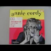 Disque Vinyl 45 tours Annie CORDY Tout ce que veut Lola ESRF 1127