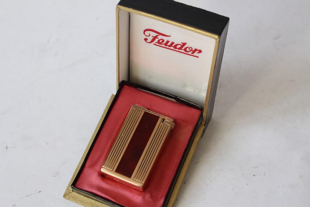Briquet gaz feudor plaqu or maill tabac objets du fumeur ebay - Installation plaque gaz ...