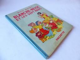 Livre Illustré WALT DISNEY'S BLANCHE NEIGE 1938