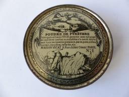 Boite soufflet poudre de Pyréthre VICAT N°2