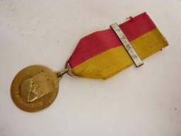 Décoration Corps des Pompiers Tisino Argent