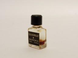 Flacon de parfum miniature échantillon Quadrille BALENCIAGA