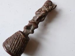 Cloche bronze a la cire perdu Afrique