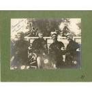 Photographie Ancienne Guerre Brancardiers 106e Bie