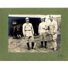 Photographie Ancienne Guerre Officiers 2e SMA Sénécourt