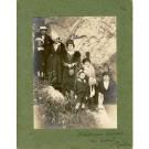 Photographie Ancienne Guerre Départ au front Toulon