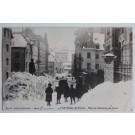 Carte postale Suisse La chaux-de-Fonds - Rue du balancier en hiver Neuchâtel