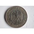 Monnaie 2 Reichsmark commémoration Journée Potsdam 1933 Allemagne