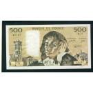 Billet 500 Francs PASCAL 3-2-1977.F.Q72 43187