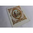 Cahier d'écolier vœux aux  parents pour le nouvel an 1898