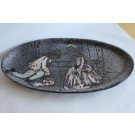 Plat céramique vernissée - MABYJO'S Musarra VALLAURIS