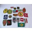 Collection de 20 écussons Scouts