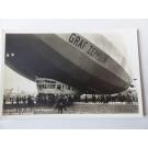 CPA dirigeable Graf Zeppelin après son atterrissage