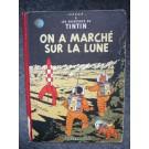 BD Tintin - On a marché sur la Lune - B11 - 1954