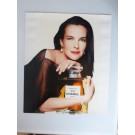 Grande Photo Chanel N°5 Paris Carole BOUQUET