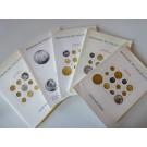 Ensemble Catalogue Vente aux Enchères Numismatique Monnaies