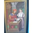"""Gravure du livre """"des Grandes Heures d Anne de Bretagne"""""""