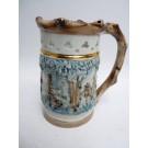Ancien Pichet trompeur Porcelaine ROYAL DUX BOHEMIA