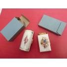 Briquet PIGEON boite à cigarettes cendrier décor émaillé