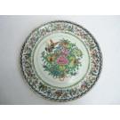 Assiette en Porcelaine émaillée peinte CHINE