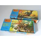 Maquette Starfix Hélicoptère Militaire jouets N°203 et 204