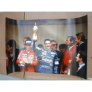Photo Grand Prix Formule 1 Monaco Ayrton SENNA Nigel MANSELL