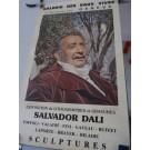 Affiche Salvador DALI Exposition Eaux Vives GENEVE
