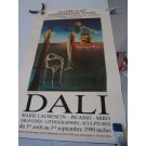 Affiche Salvador DALI Exposition GENEVE 1990