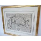Carte de Genève 1650