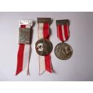 Médailles (3 ) Pompier Suisse