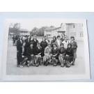 Photo d'école de filles a Genève 1963 dédicacée Boissonnas