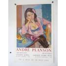 Affiche originale Andre PLANSON 1965 Mourlot