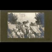 Photographie Ancienne Guerre 80 Somme Chuignes