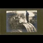 Photographie ancienne guerre Incendie Cote 180
